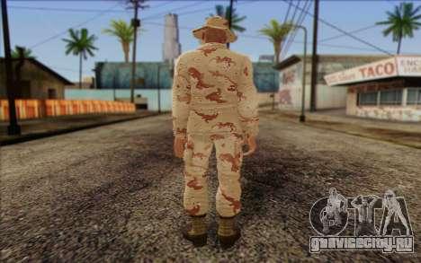 California National Guard Skin 1 для GTA San Andreas второй скриншот