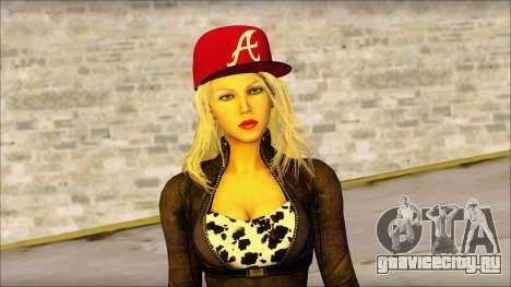 Eva Girl v2 для GTA San Andreas третий скриншот