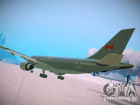 Canadian Forces Airbus CC150 Polaris для GTA San Andreas вид справа