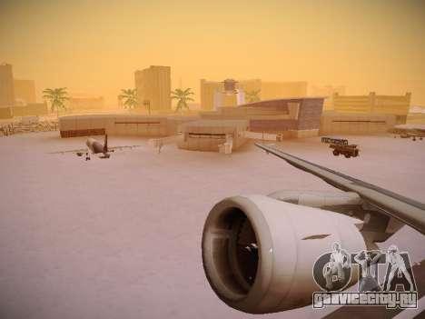 Airbus A320-214 LAN Airlines для GTA San Andreas колёса
