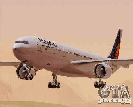Airbus A330-300 Philippine Airlines для GTA San Andreas