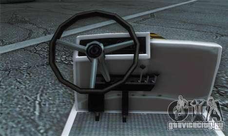 Airtug FlyUS (IVF) для GTA San Andreas вид сзади слева