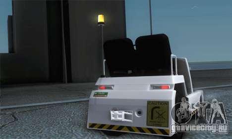 Airtug FlyUS (IVF) для GTA San Andreas вид справа