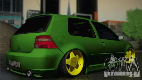 Volkswagen Golf 4 R32 Low v2 для GTA San Andreas вид слева