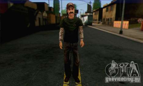 Kenny from The Walking Dead v1 для GTA San Andreas