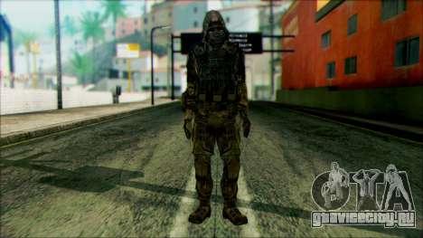 Солдат из команды Фантом 4 для GTA San Andreas