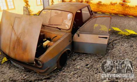 Dacia 1310 MLS Rusty Edition 1988 для GTA San Andreas вид изнутри