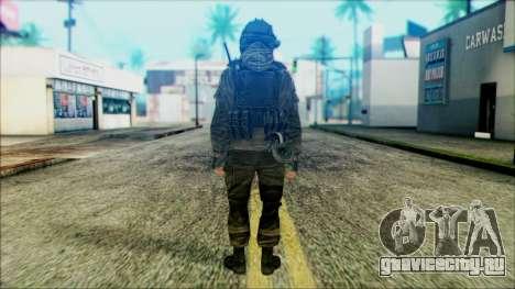Солдат ВДВ (CoD: MW2) v5 для GTA San Andreas второй скриншот