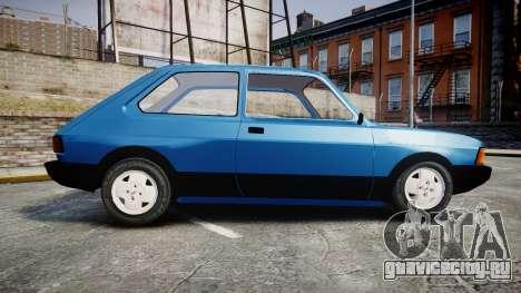 Fiat 147 Spazio-TR для GTA 4 вид слева