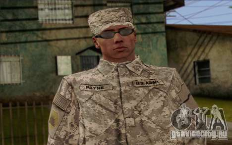 California National Guard Skin 4 для GTA San Andreas третий скриншот