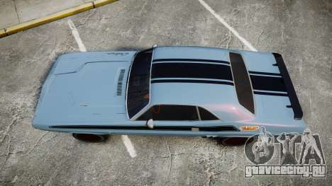 Dodge Challenger 1971 v2.2 PJ2 для GTA 4 вид справа