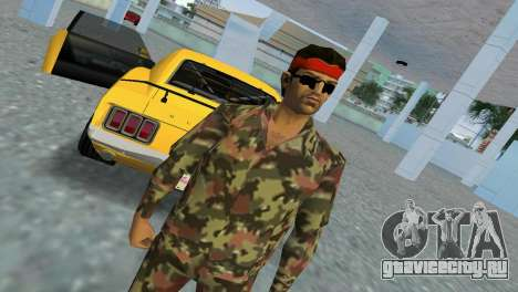 Camo Skin 09 для GTA Vice City третий скриншот
