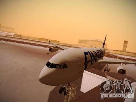 Airbus A340-300 Finnair для GTA San Andreas