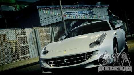 Ferrari FF 2011 v1.5 для GTA 4 вид снизу
