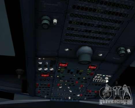 Airbus A330-300 Emirates для GTA San Andreas двигатель