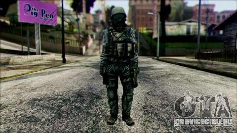 Боец (PLA) v5 для GTA San Andreas