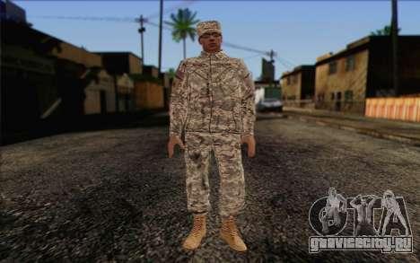 California National Guard Skin 4 для GTA San Andreas