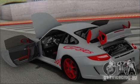 Porsche 911 GT3 2010 для GTA San Andreas салон