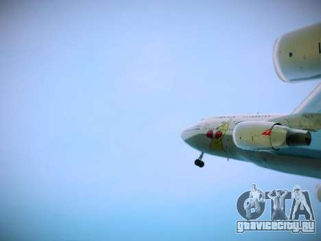 Boeing 747-438 Qantas Boxing Kangaroo для GTA San Andreas вид сбоку