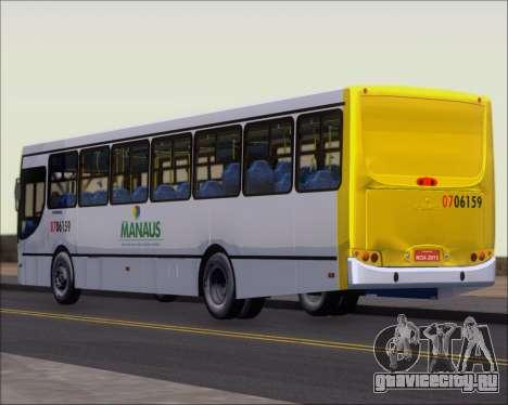 Caio Induscar Apache S21 Volksbus 17-210 Manaus для GTA San Andreas вид слева