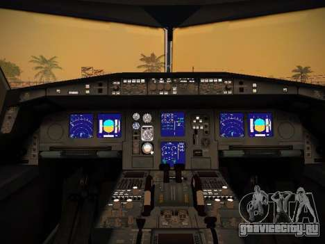 Airbus A340-600 Lufthansa для GTA San Andreas колёса