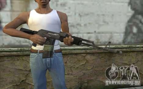 AK-101 from Battlefield 2 для GTA San Andreas третий скриншот