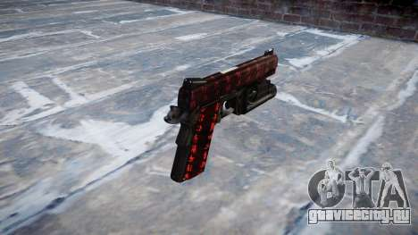 Пистолет Kimber 1911 Art of War для GTA 4 второй скриншот