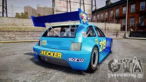 Zenden Cup Kicker для GTA 4 вид сзади слева