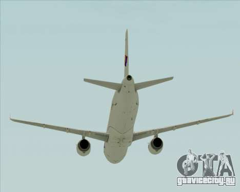 Airbus A321-231 Spanair для GTA San Andreas вид сверху