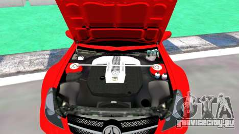 Mercedes Benz SL65 AMG Black Series для GTA 4 вид справа