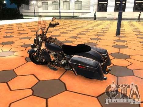 Harley Davidson Road King для GTA San Andreas вид слева