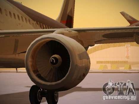 Airbus A320-214 LAN Airlines для GTA San Andreas двигатель