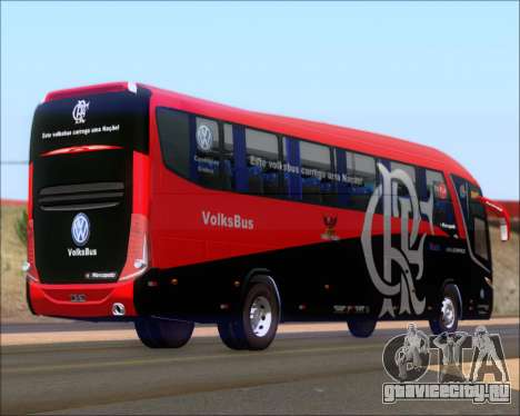 Marcopolo Paradiso 1200 G7 4X2 C.R.F Flamengo для GTA San Andreas вид справа