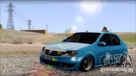 Dacia Logan BS GARAGE для GTA San Andreas