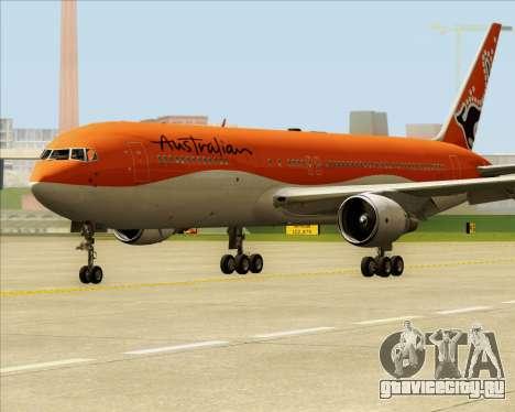Boeing 767-300ER Australian Airlines для GTA San Andreas вид слева