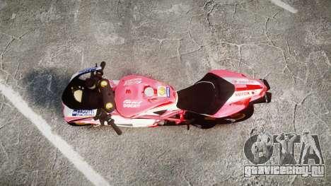 Ducati 1198 R для GTA 4 вид справа