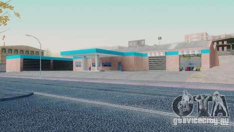 Новые текстуры гаража в Сан-Фиерро для GTA San Andreas