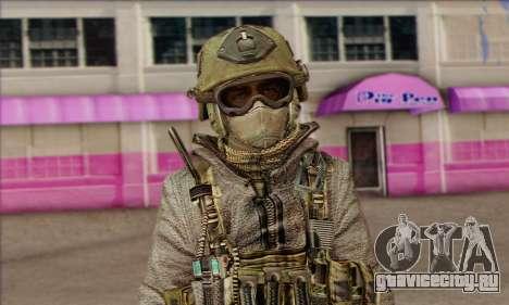 Task Force 141 (CoD: MW 2) Skin 7 для GTA San Andreas третий скриншот