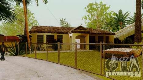 Новые текстуры домов на Гроув-стрит для GTA San Andreas третий скриншот