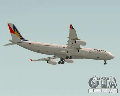 Airbus A340-313 Philippine Airlines для GTA San Andreas