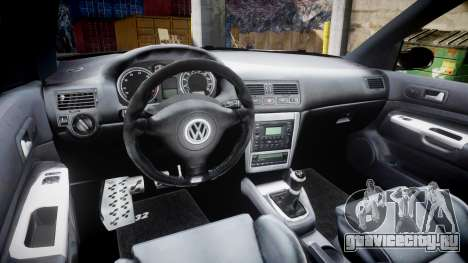 Volkswagen Golf Mk4 R32 Wheel2 для GTA 4 вид сзади