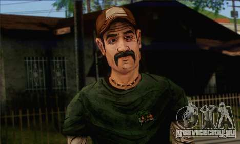 Kenny from The Walking Dead v1 для GTA San Andreas третий скриншот