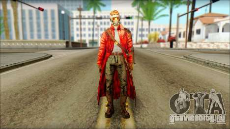 Guardians of the Galaxy Star Lord v2 для GTA San Andreas