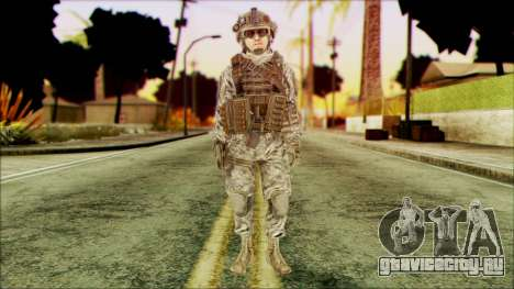 Рейнджер (CoD: MW2) v4 для GTA San Andreas