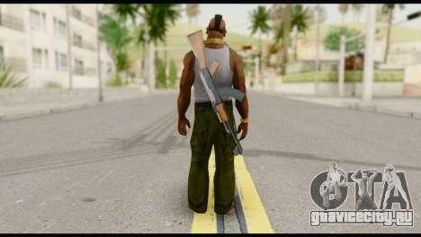 MR T Skin v8 для GTA San Andreas второй скриншот