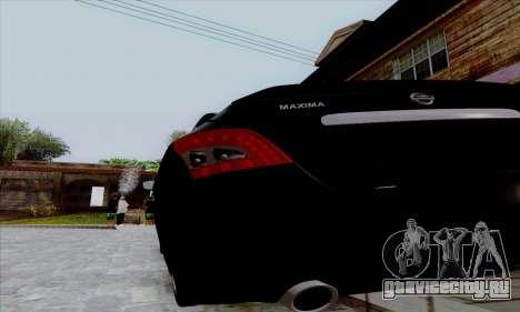 Nissan Maxima для GTA San Andreas вид справа