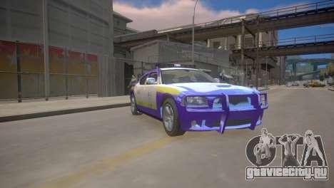 Dodge Charger Kuwait Police 2006 для GTA 4