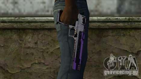 PurpleX Desert Eagle для GTA San Andreas третий скриншот