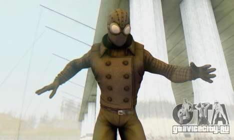 Skin The Amazing Spider Man 2 - DLC Noir для GTA San Andreas