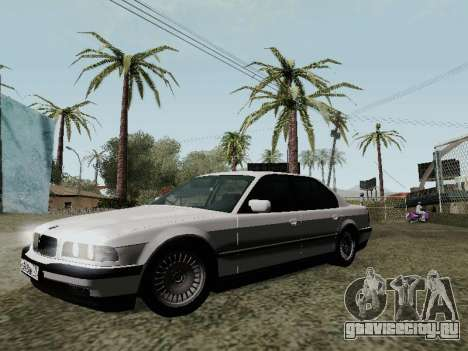 BMW 760i E38 для GTA San Andreas вид сверху